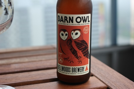 Barn Owl Bottle