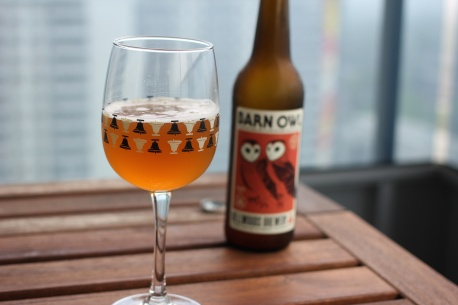 Barn Owl Bottle and Beer